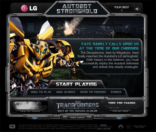 Autobot Stronghold Home