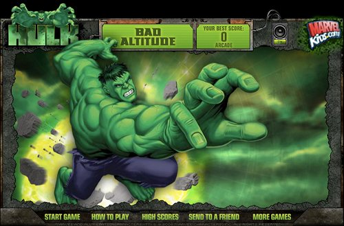 Hulk Bad Altitude Home
