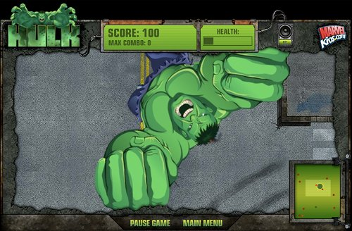 Hulk Central Smashdown Game Play