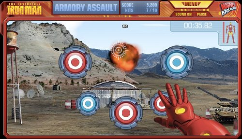 Iron Man Armory Assault Game Play