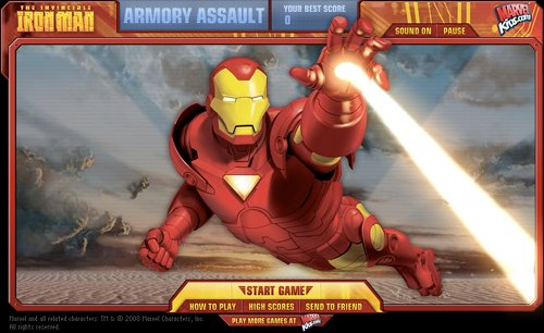 Iron Man Armory Assault Intro