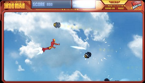 Iron Man Flight Test Game Play