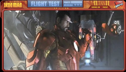 Iron Man Flight Test Intro